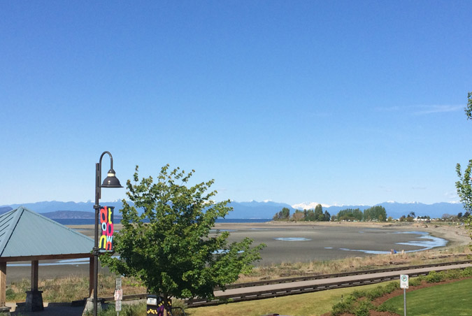 Sea Edge Motel in the heart of Parksville, BC